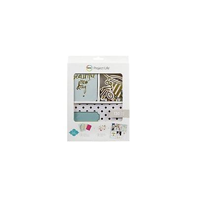 American Crafts™ Heidi Swapp Project Life Mini Kit, Gold Foil