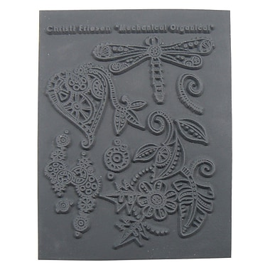Great Create Mechanical Organical Texture Stamp, 5 1/2