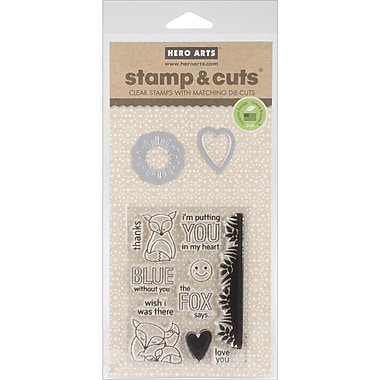 Hero Arts® The Fox Says Stamps & Cuts, Clear