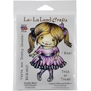 "La-La Land Crafts Zombie Marci Cling Stamp, 4"" x 3"""