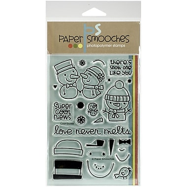 Paper Smooches Cool Dudes Stamp, Clear, 4