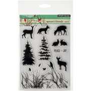 """Penny Black® Nature's Friends Stamp, Clear, 5"""" x 6 1/2"""""""