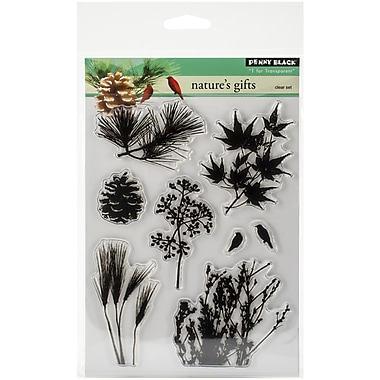 Penny Black® Nature's Gift Stamp, Clear, 5