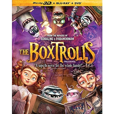 The BoxTrolls (Blu-ray 3D/Blu-ray/DVD)