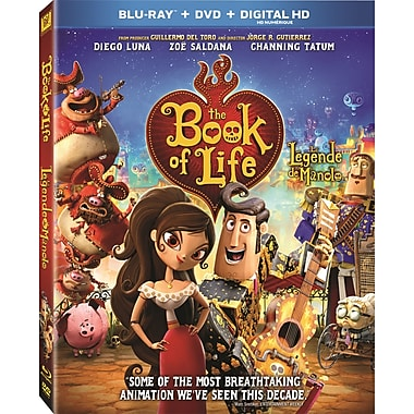 The Book of Life (Blu-ray/DVD) (La légende de Manolo)