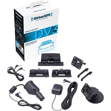 SiriusXM Dock And Play Vehicle Kit, Black (AVXXSXDV3)