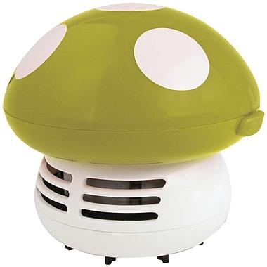 Starfrit® 060777 Mushroom Shaped Mini Table Vacuum Cleaner, Green