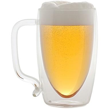 Starfrit® 17 oz. Double-Wall Glass Beer Mug