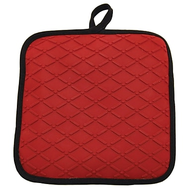 Starfrit® Silicone Pot Holder And Trivet, Red