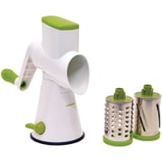 Starfrit® Stainless Steel Drum Grater; Green/White