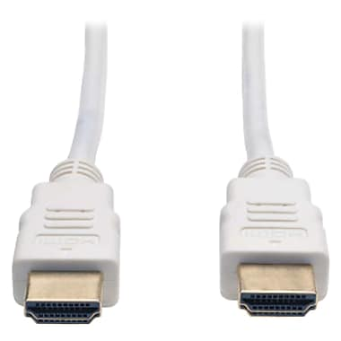 Tripp Lite 3' High Speed HDMI Cable, White (TRPP568003WH)