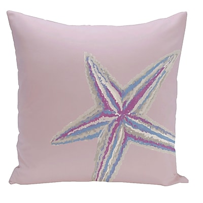 E By Design Decorative Starfish Throw Pillow; 20'' H x 20'' W