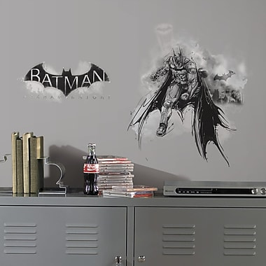 Room Mates Internet Only 2 Piece Batman Arkham Knight Darkness Wall Decal