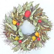 Dried Flowers and Wreaths LLC Orchard Branch Wreath