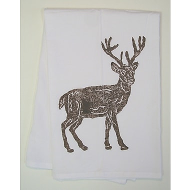 Lowcountry Linens Full Deer Kitchen Towel