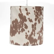 Sweet Potato by Glenna Jean Happy Hanging Trails 14'' Fabric Drum Pendant Shade