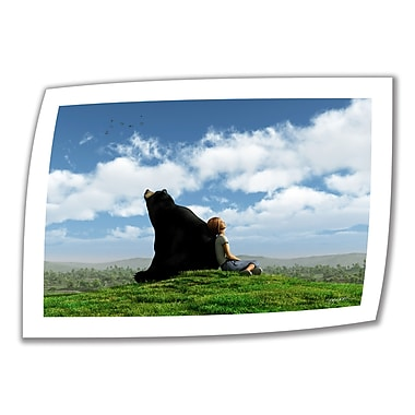 ArtWall Cloud Watchers' by Cynthia Decker Photographic Print on Rolled Canvas; 16'' H x 24'' W