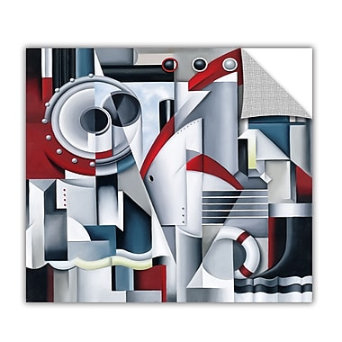 ArtWall ArtApeelz 'Maiden Voyage' by Catherine Abel Graphic Art Removable Wall Decal