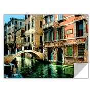 ArtWall ArtApeelz 'Venice Canal' by George Zucconi Painting Print Removable Wall Decal