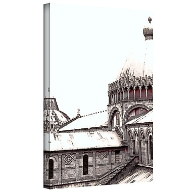 ArtWall 'Daybreak on the Duomo Pisa' by Linda Parker Photographic Print on Wrapped Canvas