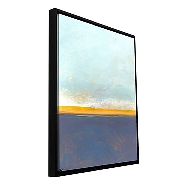 ArtWall 'Big Country Sky I' by Jan Weiss Framed Painting Print on Wrapped Canvas; 24'' H x 18'' W