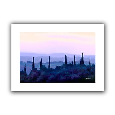 ArtWall Tuscan Morn' by Linda Parker Painting Print on Rolled Canvas; 22'' H x 16'' W