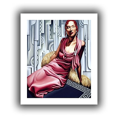 ArtWall La Vie en Rose' by Catherine Abel Graphic Art on Rolled Canvas; 22'' H x 18'' W