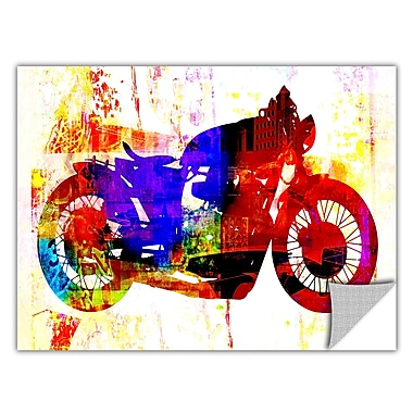 ArtWall ArtApeelz 'Moto III' by Greg Simanson Graphic Art Removable Wall Decal