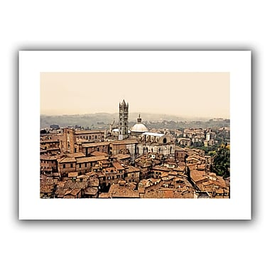 ArtWall Siena Landscape' by Linda Parker Photographic Print on Rolled Canvas; 22'' H x 16'' W