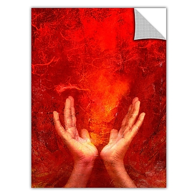 ArtWall ArtApeelz 'Chakra Fire' by Elena Ray Graphic Art Removable Wall Decal WYF078277279681