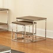 Brady Furniture Industries Woodward 2 Piece Nesting Tables