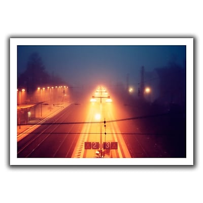 ArtWall Night Adventure' by John Black Photographic Print on Rolled Canvas; 16'' H x 22'' W
