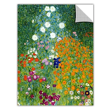ArtWall ArtApeelz 'Farm Garden' by Gustav Klimt Painting Print Removable Wall Decal