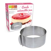 ScrapCooking Adjustable Round Stainless Steel Frame