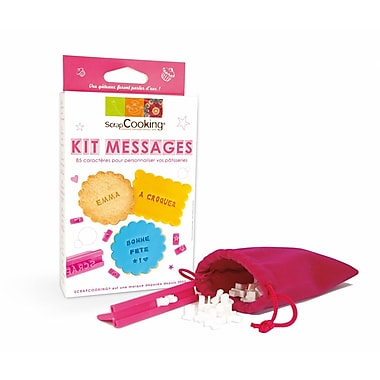 ScrapCooking Letter Kit for Cookies and Fondant