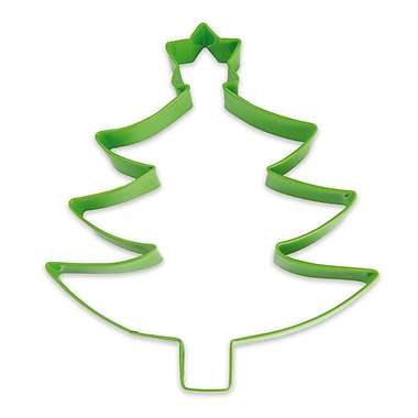 ScrapCooking Stainless Steel Cutter, Green Christmas Tree