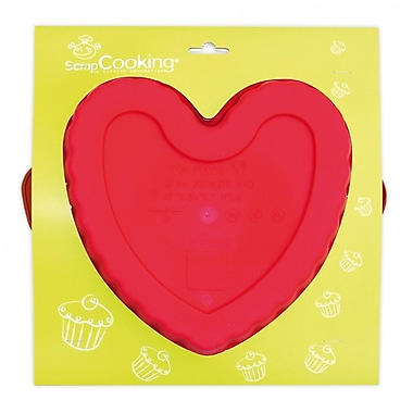 ScrapCooking Silicone Mould, Heart