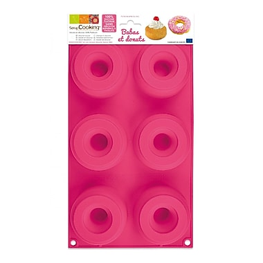 ScrapCooking Silicone, Babas and Donuts Mould