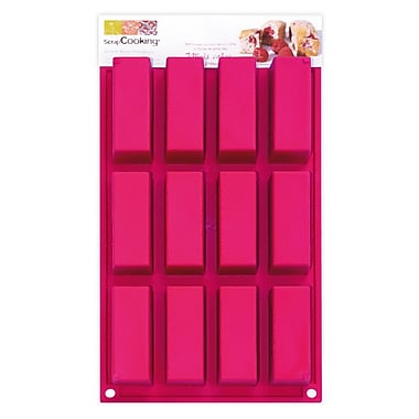 ScrapCooking Silicone Mould, Mini Rectangle Cakes
