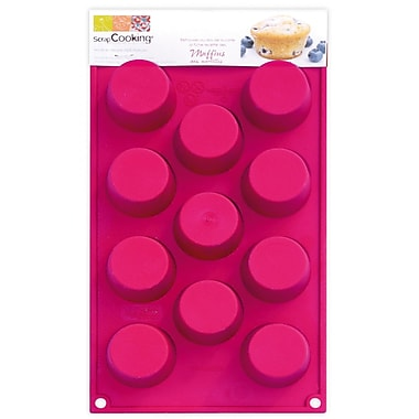 ScrapCooking Silicone Mould, 11 Mini Cupcakes