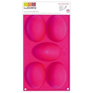ScrapCooking Silicone Mould, Easter Eggs