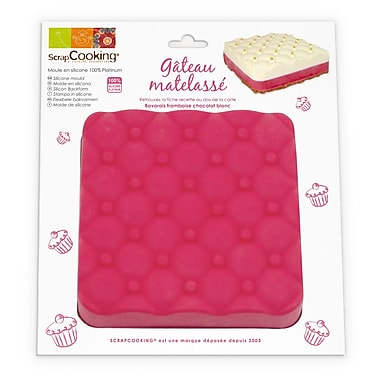 ScrapCooking Silicone Mould, Padded Cake