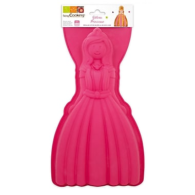 ScrapCooking Silicone Mould, Princess