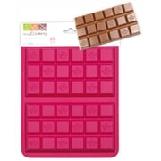 ScrapCooking 100% Platinum Silicone Mold, Chocolate Bars