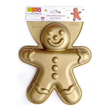 ScrapCooking Silicone Mould, Gingerbread Man