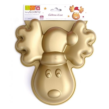 ScrapCooking Silicone Mould, Reindeer