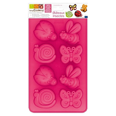 ScrapCooking Silicone Mould, Insects