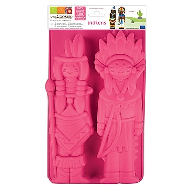 ScrapCooking Silicone Mould, Indians