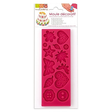 ScrapCooking Mould for Fondant, Assorted Shapes