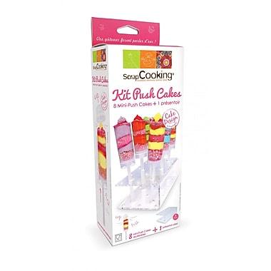 ScrapCooking – 8 mini gâteaux poussoir et trousse de présentation